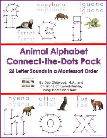 Animal Alphabet Connect-the-Dots Pack