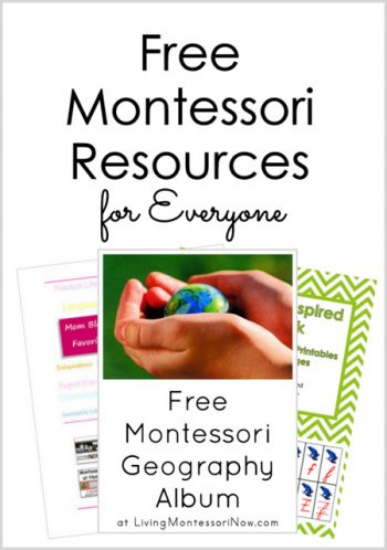 Free Montessori Resources for Everyone