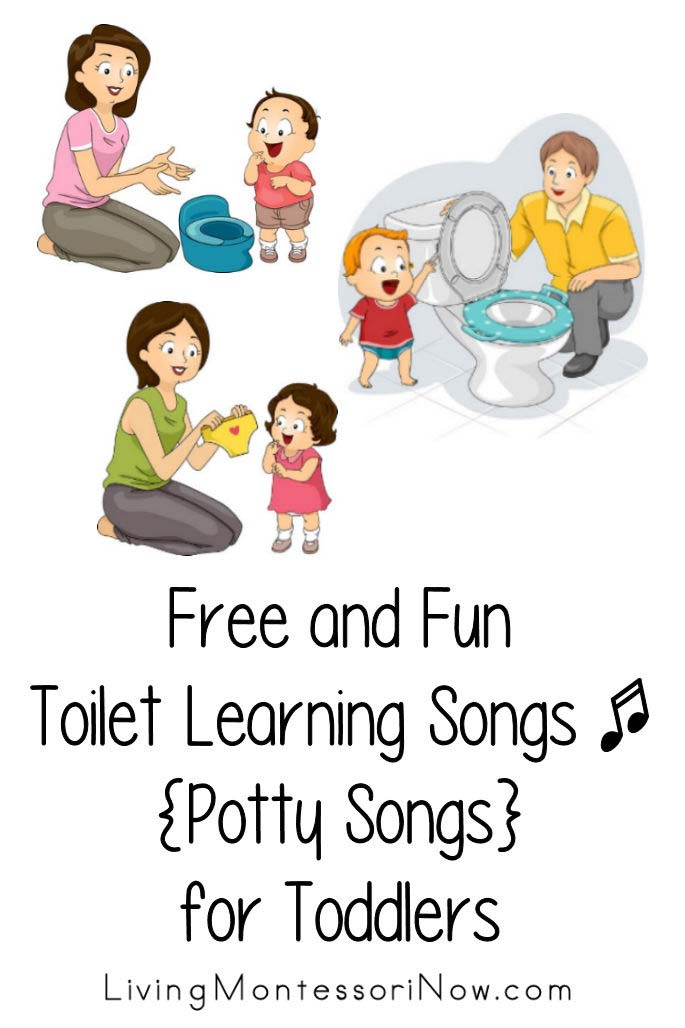 Free and Fun Toilet Learning Songs {Potty Songs} for Toddlers