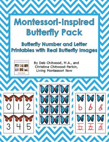 Montessori-Inspired Butterfly Pack