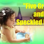 """""""5 Green and Speckled Frogs"""" with Props & Free Printables {Montessori Monday}"""