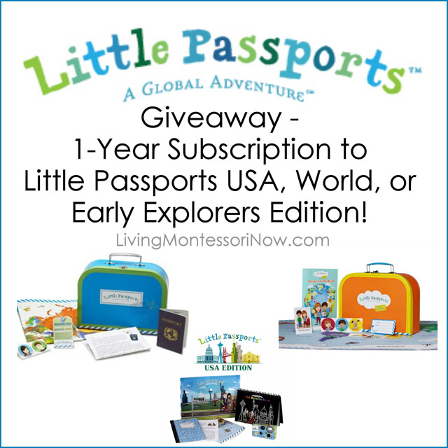 Little Passports Giveaway - 1-Year Subscription