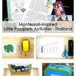 Montessori-Inspired Little Passports Activities – Thailand
