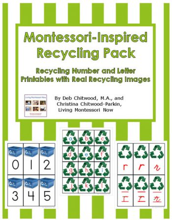 Montessori-Inspired Recycling Pack