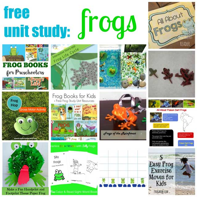 Free Unit Study - Frogs