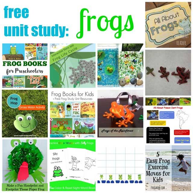 Free Unit Study - Frogs