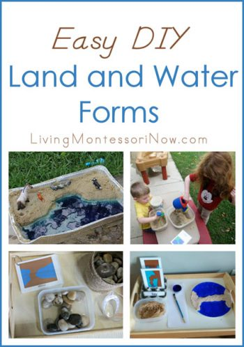 Easy DIY Land and Water Forms