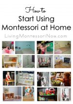 How to Start Using Montessori at Home