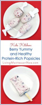 Kids' Kitchen: Berry Yummy and Healthy Protein-Rich Popsicles