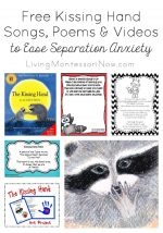 Free Kissing Hand Songs, Poems, & Videos to Ease Separation Anxiety
