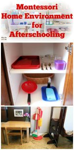 How to Prepare a Montessori Home Environment for Afterschooling