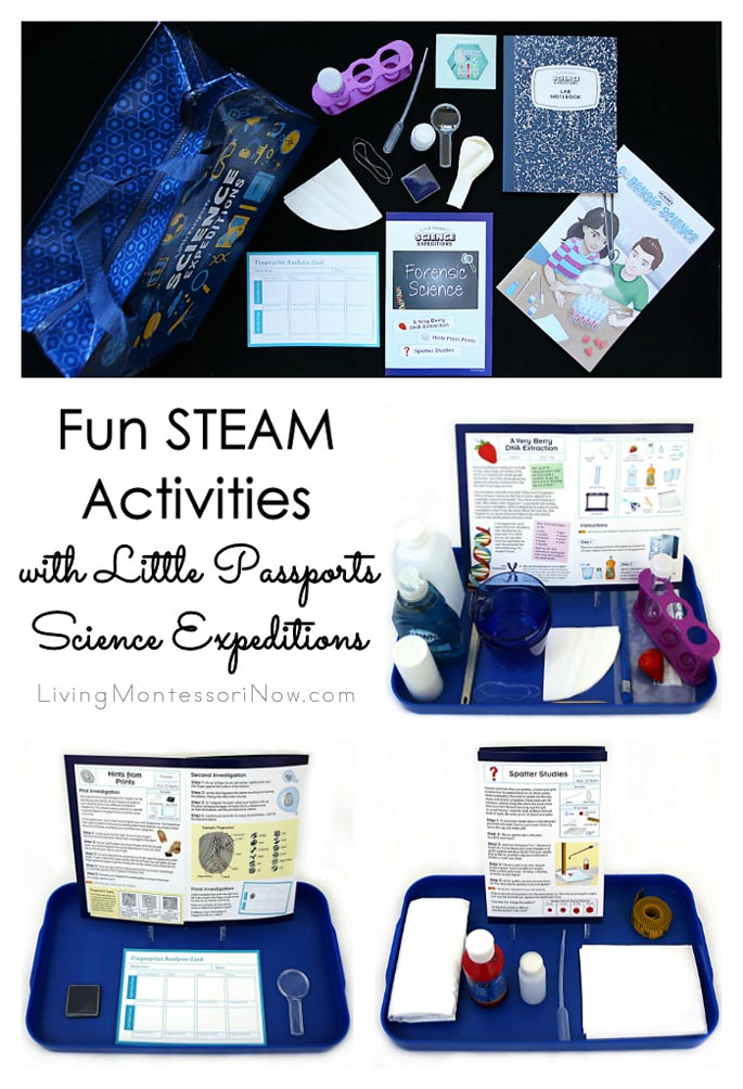 Fun STEAM Activities with Little Passports Science Expeditions