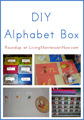DIY Alphabet Box