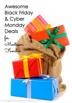Awesome Black Friday and Cyber Monday Deals for Montessori Families