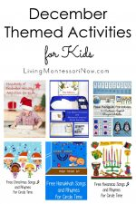 December Themed Activities for Kids