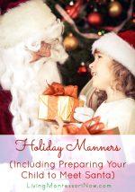 Holiday Manners {Montessori Monday}