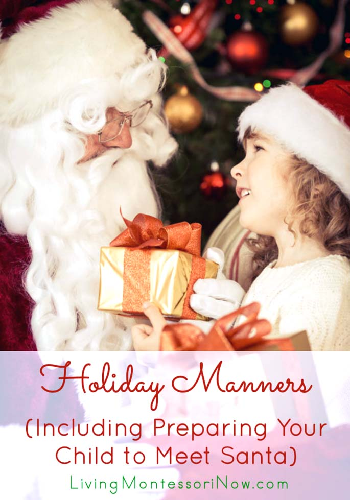 Holiday Manners {Montessori Monday}