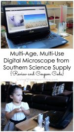 Multi-Age, Multi-Use Digital Microscope from Southern Science Supply {Review & Coupon Code}