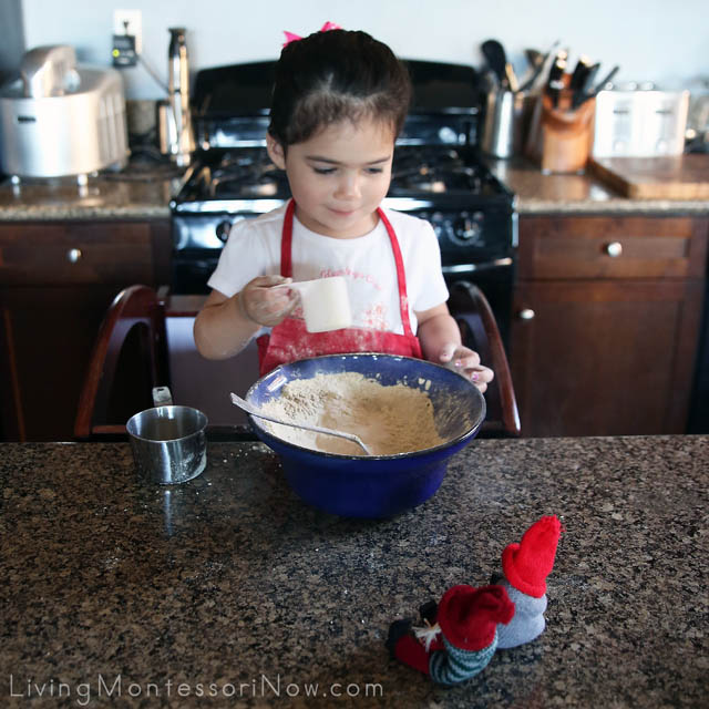 Adding Protein Powder to the Healthy Blueberry Muffins (with Kindness Elves)
