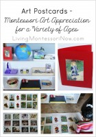Art Postcards - Montessori Art Appreciation for a Variety of Ages