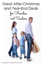 Great After-Christmas & Year-End Deals for Families and Teachers