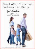 Great After-Christmas and Year-End Deals for Families and Teachers