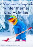 Montessori-Inspired Winter Themes and Activities
