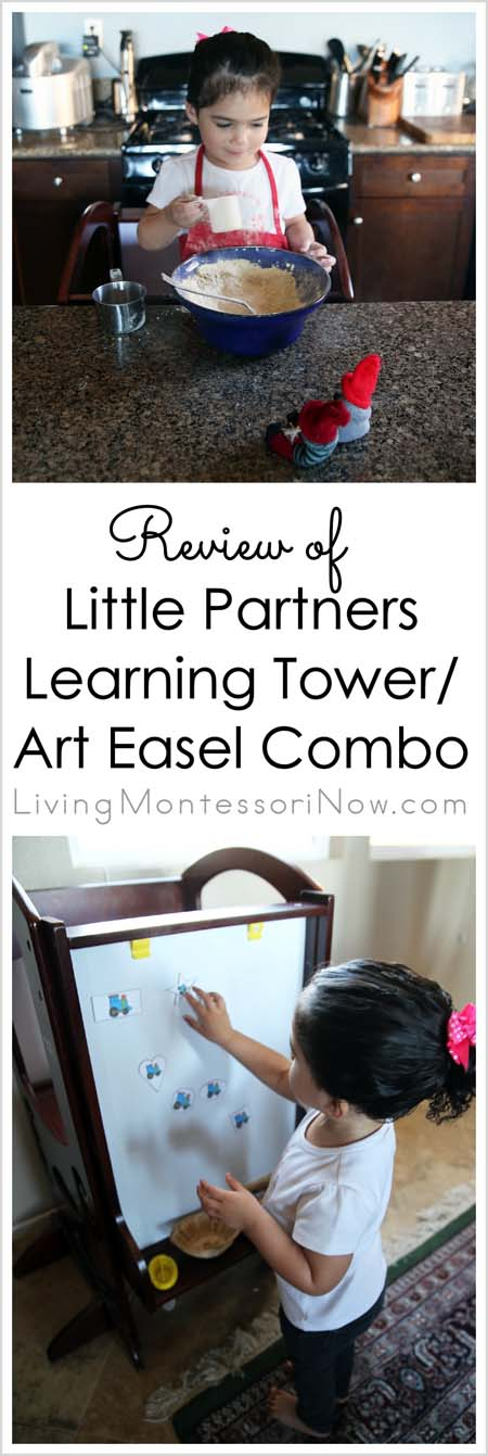 Review of Learning Tower - Art Easel Combo