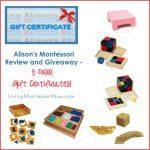 Alison's Montessori Review