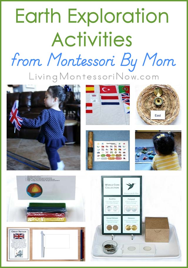 Earth Exploration Activities from Montessori By Mom {Montessori Monday}