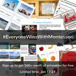 The Montessori Giveaway Where EVERYONE WINS!!! #EveryoneWinsWithMontessori
