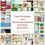 Free Printables and Montessori-Inspired Activities from 2015 {Montessori Monday}