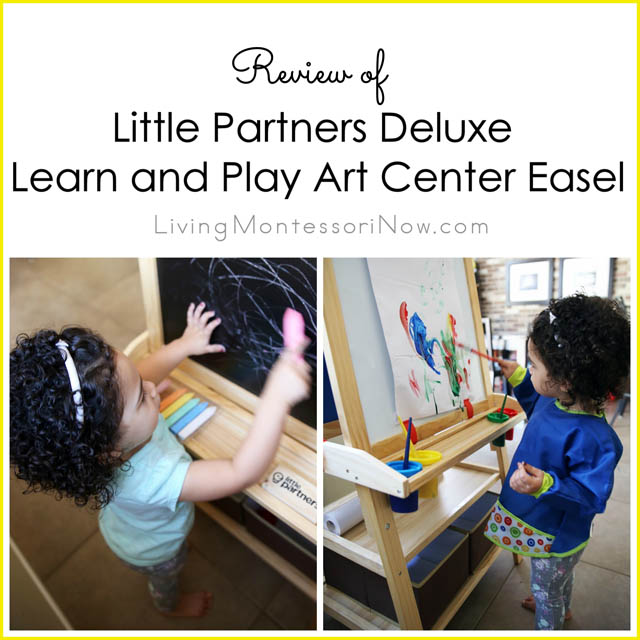 Little Partners Deluxe Learn and Play Art Center Easel Review