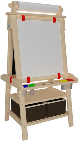 Little Partners Deluxe Learn and Play Art Center Easel