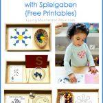 Montessori-Inspired Winter Activities with Spielgaben {Free Printables}