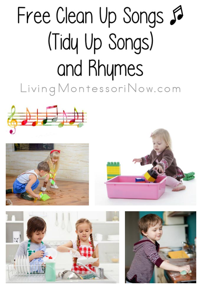 Favorite Clean Up Songs (Tidy Up Songs) and Rhymes