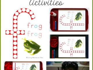 Free Frog Do-a-Dot Printable and Montessori-Inspired Activities