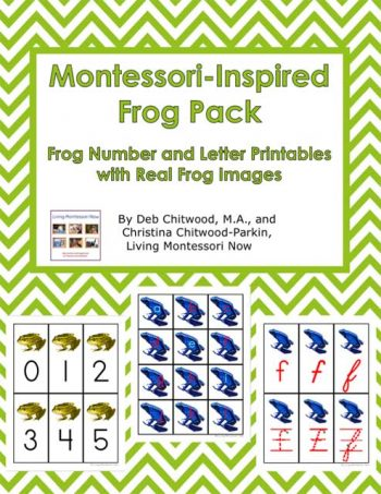 Montessori-Inspired Frog Pack