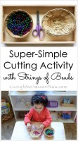 Super-Simple Cutting Activity with Strings of Beads