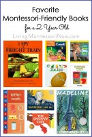 Favorite Montessori-Friendly Books for a 2 Year Old