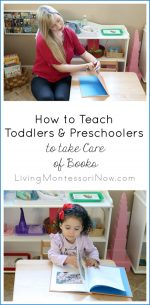 How to Teach Toddlers and Preschoolers to Take Care of Books