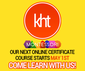KHT Montessori - New Course May 1