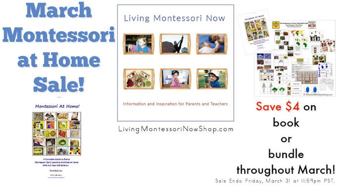 March Montessori at Home Sale