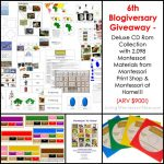 6th Blogiversary Giveaway – Montessori Print Shop Deluxe CD Rom Collection (ARV $900)!!!