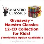 Giveaway – Maestro Classics 12-CD Collection for Kids (Worldwide Option Available)!