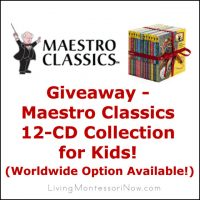 Giveaway - Maestro Classics 12-CD Collection for Kids
