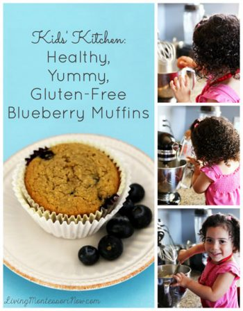 Healthy, Yummy, Gluten-Free Blueberry Muffins_Pinterest