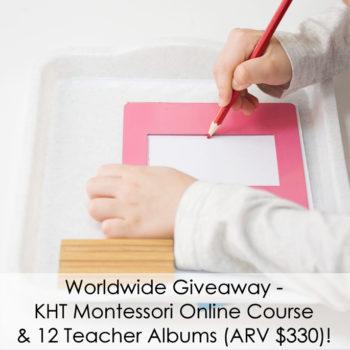 Worldwide Giveaway from KHT Montessori (ARV $330)!
