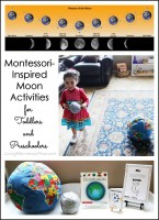 Montessori-Inspired Moon Activities for Toddlers and Preschoolers