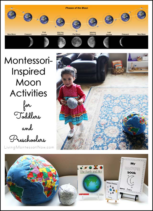 Montessori Inspired Moon Activities For Toddlers And Preschoolers